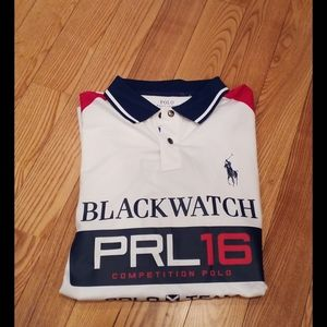 MENS POLO RALPH LAUREN BLACKWATCH POLO SIZE XXL